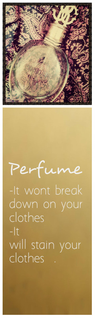 How to Care: Perfume on Clothes