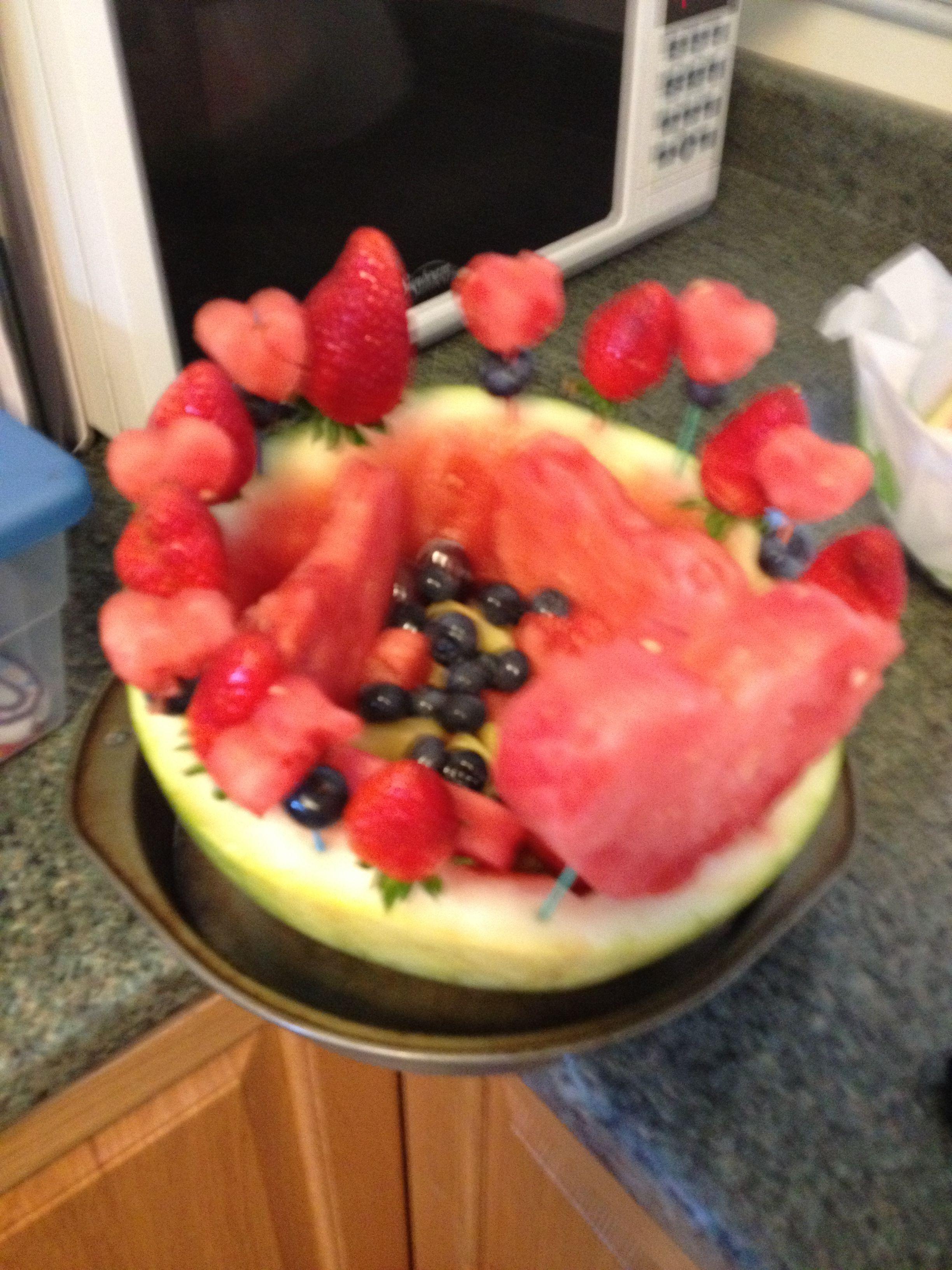 Water melon fun