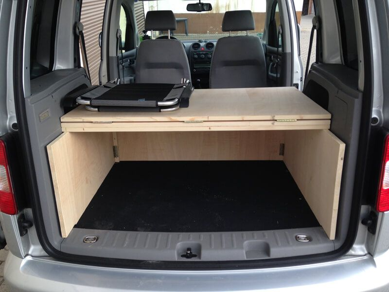 vw caddy camping ausbau my outdoor stories vivaro. Black Bedroom Furniture Sets. Home Design Ideas