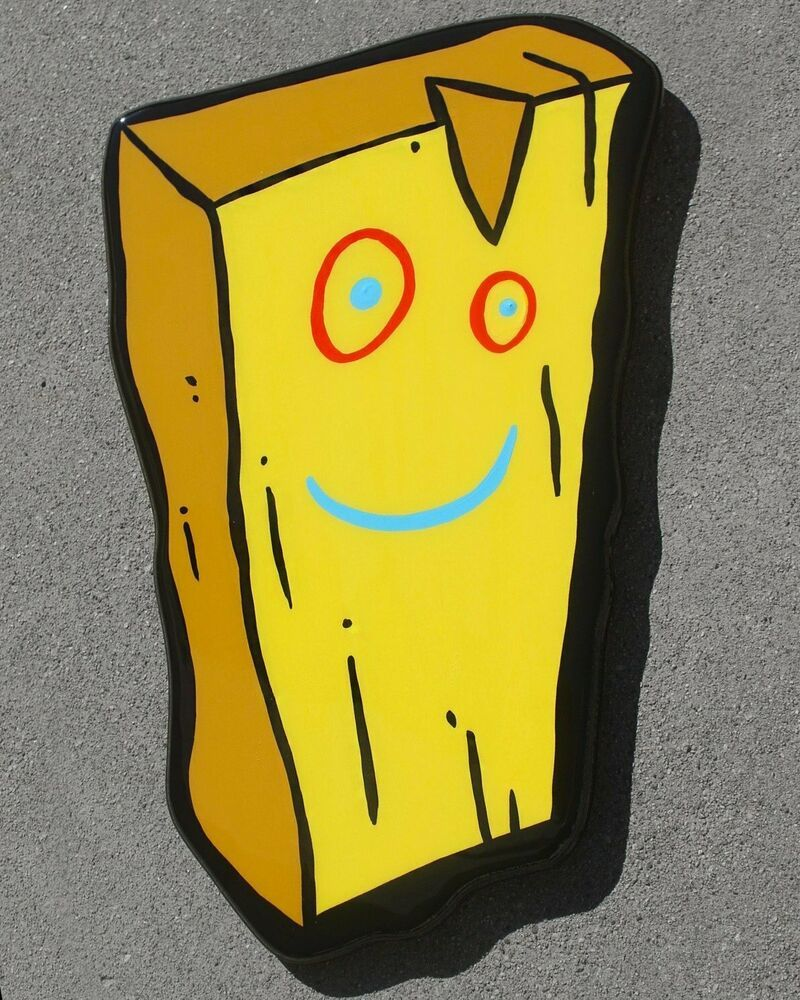 Ed Edd And Eddy Plank Wooden Wall Art Resin Finish Popart With