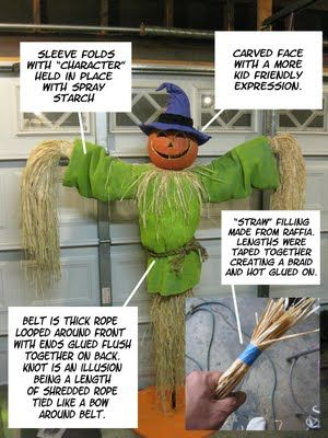 DAVE LOWE DESIGN the Blog 62 Days \u0027til Halloween A Scarecrow For - halloween scarecrow ideas