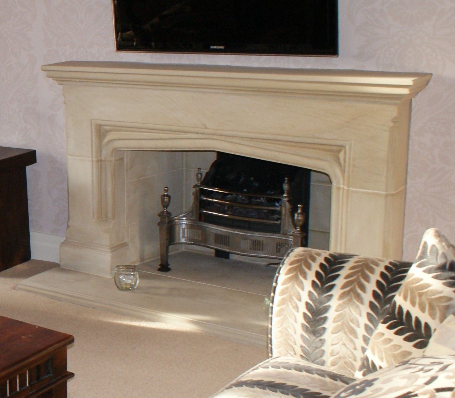 alibaba wholesale new cn manufacturer sandstone freestanding fireplace china indoor countrysearch mantel modern