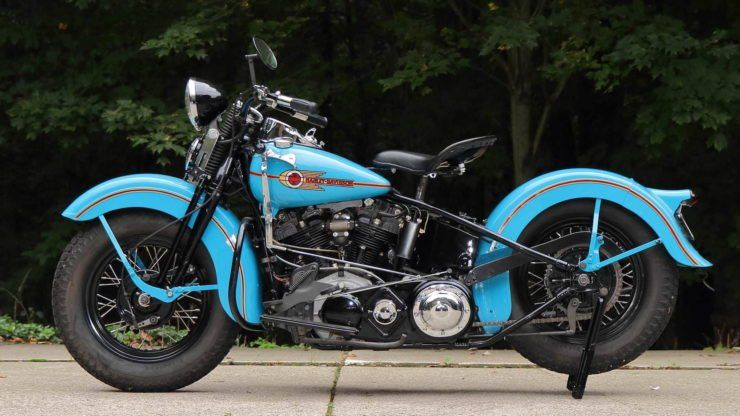 A Two Wheeled American Icon The 1938 Harley Davidson El Knucklehead Harley Davidson Knucklehead Harley Davidson Pictures Harley Davidson Images