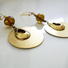Boucles d'oreilles d'influences ethnique-chic BoutiKaymaman  #bijoux #mode #tendance #style #boutikaymaman #bracelet #femme #look #ethnique