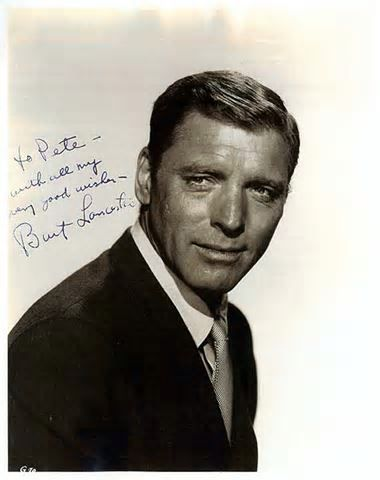 burt lancaster, in my top 5 of all time..pure actor!