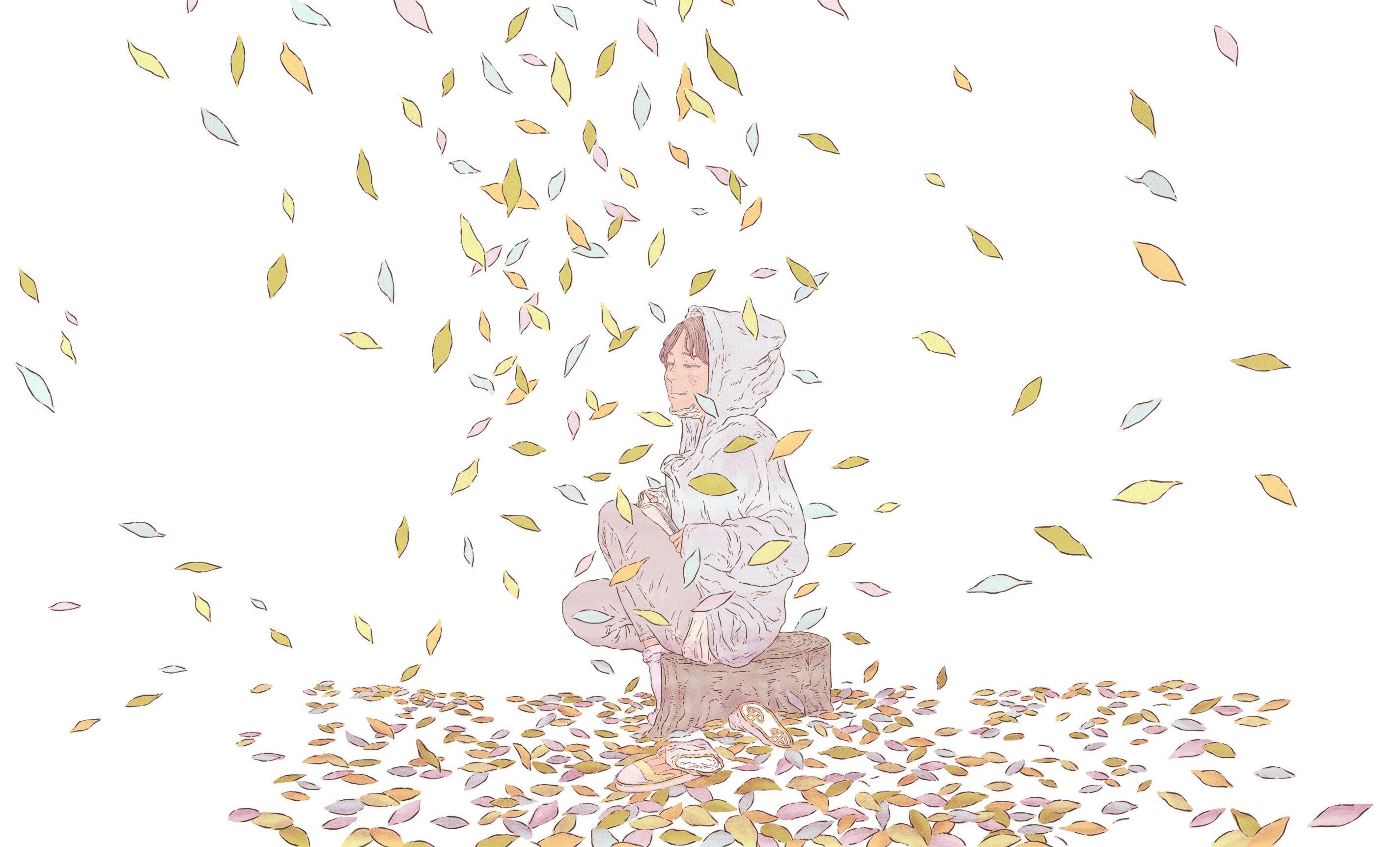 낙엽 일러스트 - Google 검색