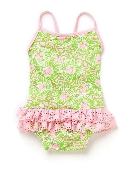 c6527ee0ce Lilly Pulitzer Isa Infant Swimsuit | Itty Bitty Pretty One | Baby ...