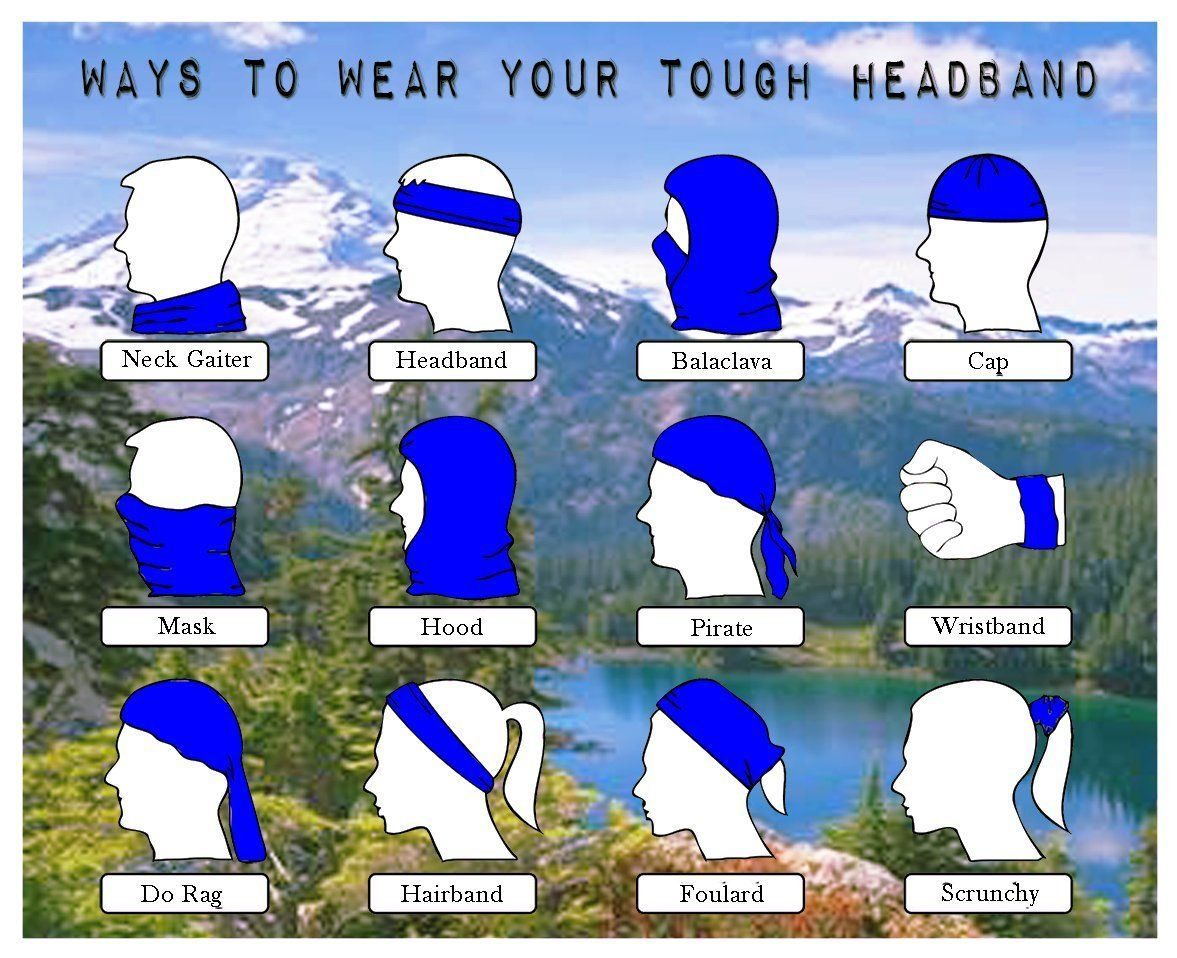 how to use a neck gaiter
