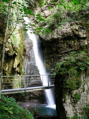 Sonthofen Tour Altstädter Hof Hinanger Wasserfall im Allgäu, Bayern