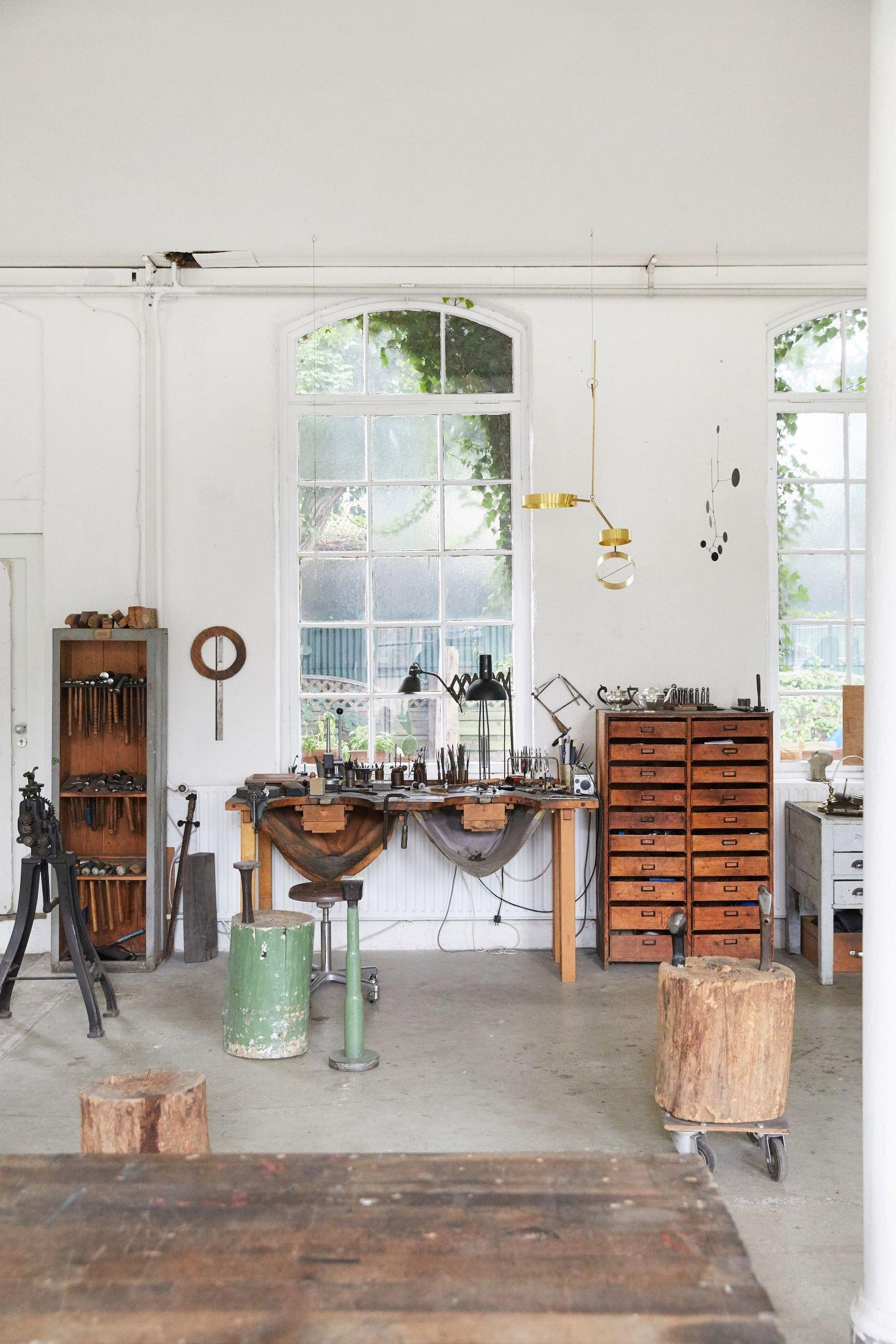 my dream workspace | home | Pinterest | Studio, Bricks and Industrial