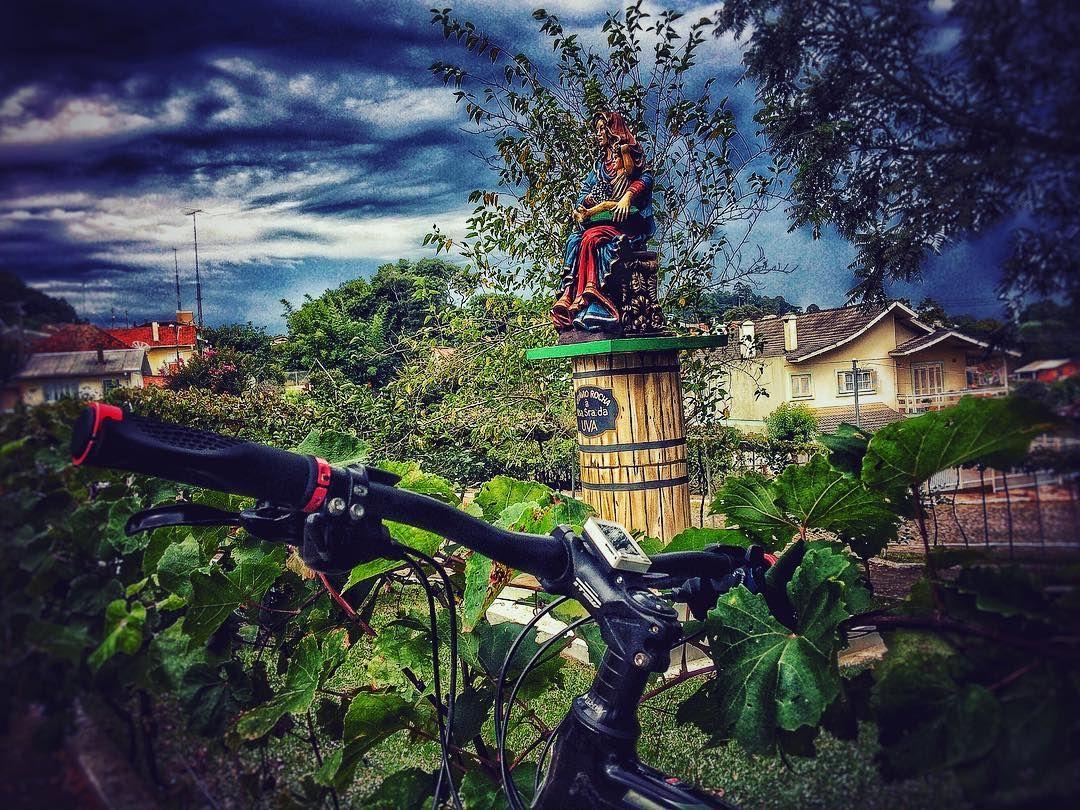Nossa Senhora da Uva em Otávio Rocha! bike strava mtb
