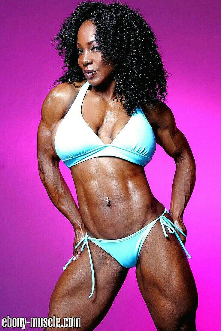 Ebony muscle girls