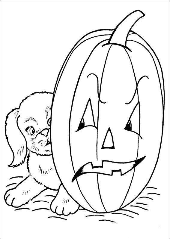Halloween 6 Jpg Dans Halloween Coloring Pages Coloring Pages To Print For Free Puppy Coloring Pages Dog Coloring Page Halloween Coloring Book