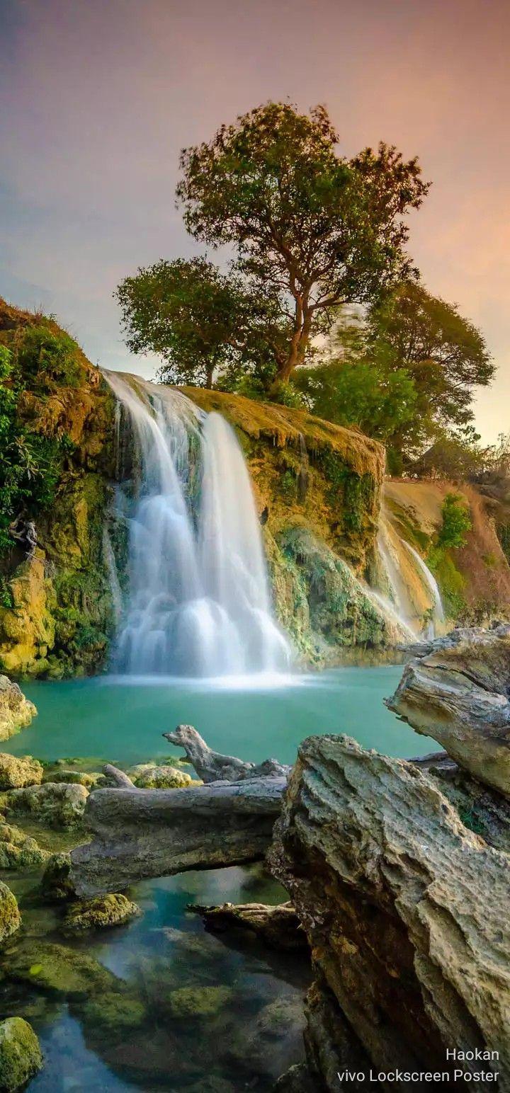 Air Terjun Toroan Madura Fotografi Alam Pemandangan Foto Alam