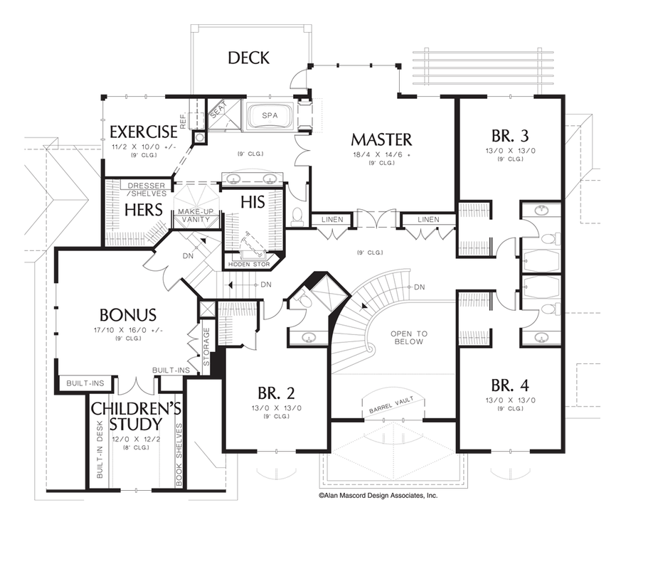 House Plan 2432 The Douglas Houseplans Co House Plans Floor Plans Large House Plans