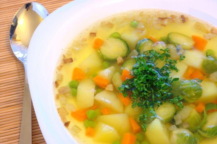 Hrášková polievka