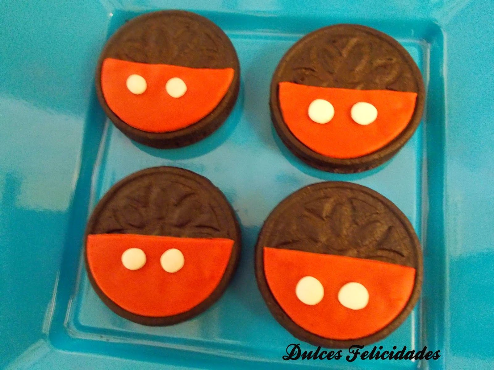 Galletas Oreo Decoradas De Mickey Mouse Cookies Galletas