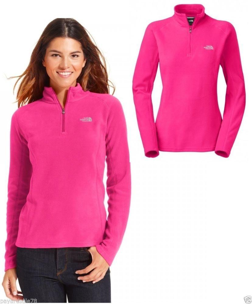 Women S Size 2xl Xxl The North Face Pink Fleece 1 4 Zip Pullover Sprint Jacket Thenorthface F North Face Jacket Womens North Face Pullover North Face Jacket [ 1000 x 828 Pixel ]