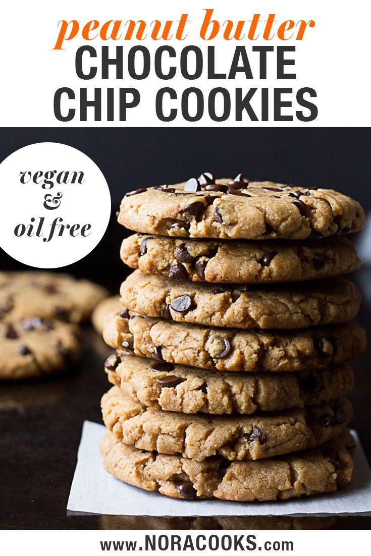 Vegan Chocolate Chip Cookies Peanut Butter Plus Chocolate Recipe Vegan Chocolate Chip Cookies Chocolate Chip Cookies Vegan Chocolate Chip