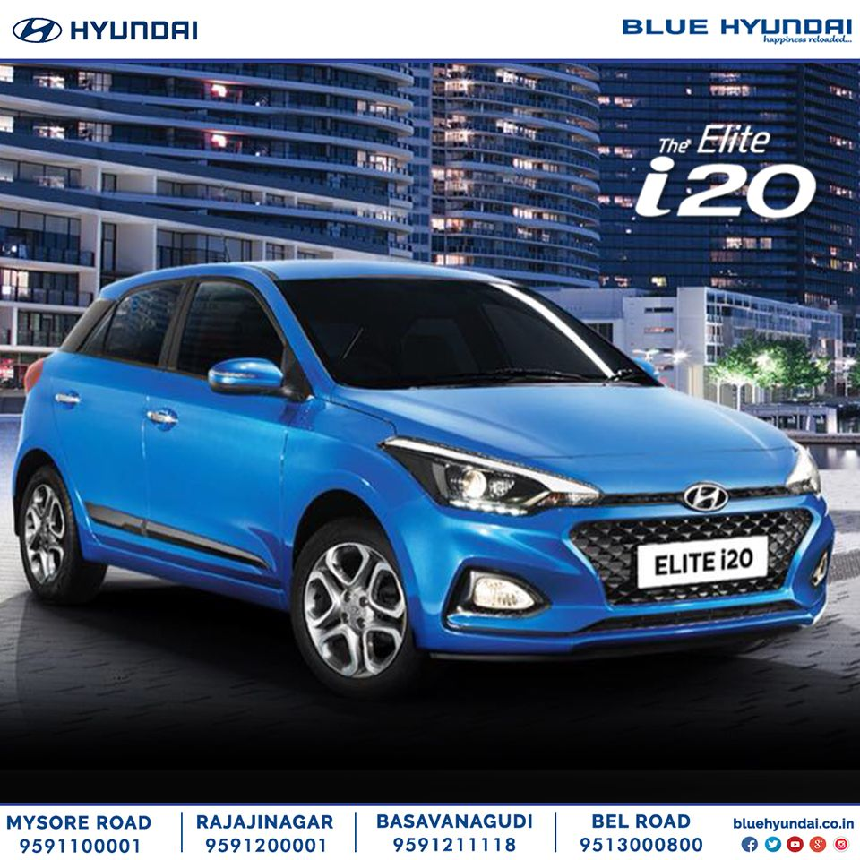 The Sporty Yet Stylish Look Of The New2018elitei20 Is A Head Turner Where Ever It Goes With Premium Interiors And A Powerful Per Hyundai Hyundai Cars New Cars