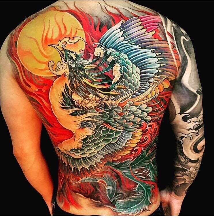 Ghim Của Wtt Tren Tattoo Hanya Japan Hinh Xăm Hinh Xăm Phượng Hoang Y Tưởng Hinh Xăm
