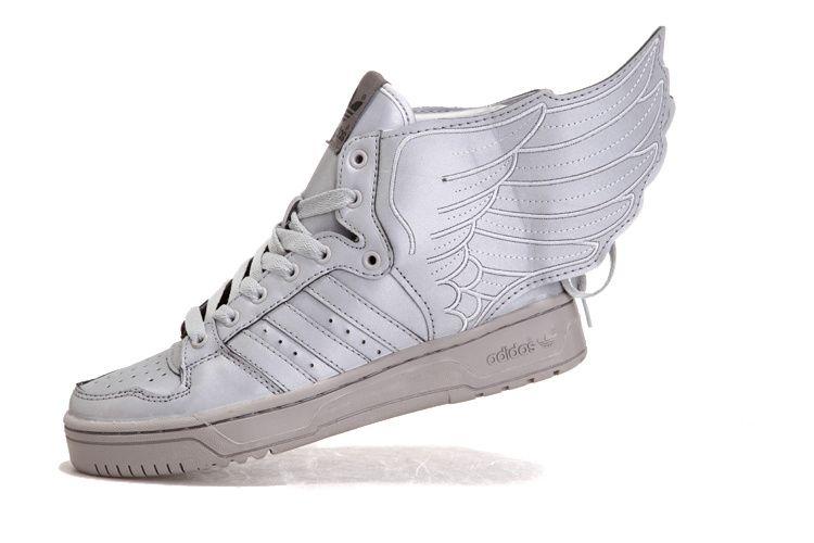 Jeremy Scott Js Ali 3M Le Adidas Silver White Lola & Lil