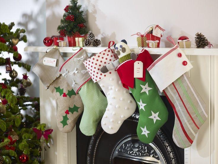 Homemade Stockings Christmas Handmade Christmas