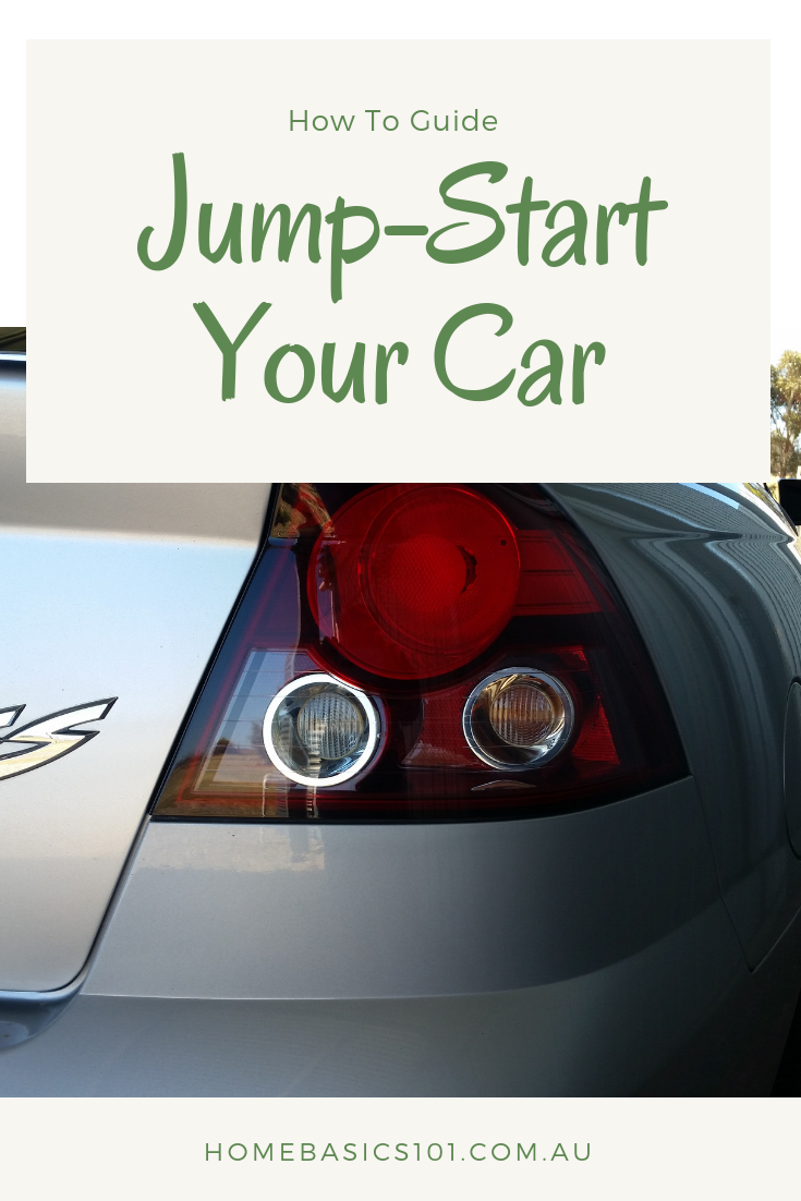How To Jump Start A Car With Images Car Hand Brake Back To