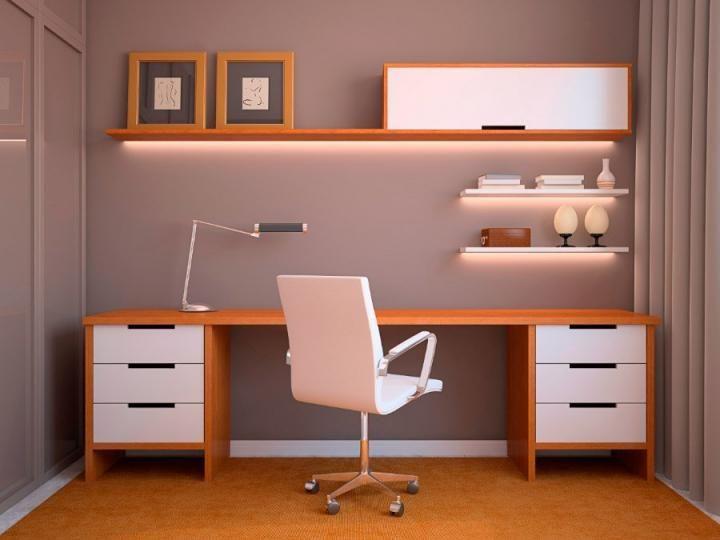Ideas para crear un pequeño estudio en nuestros hogares Azulejos - diseo de escritorios