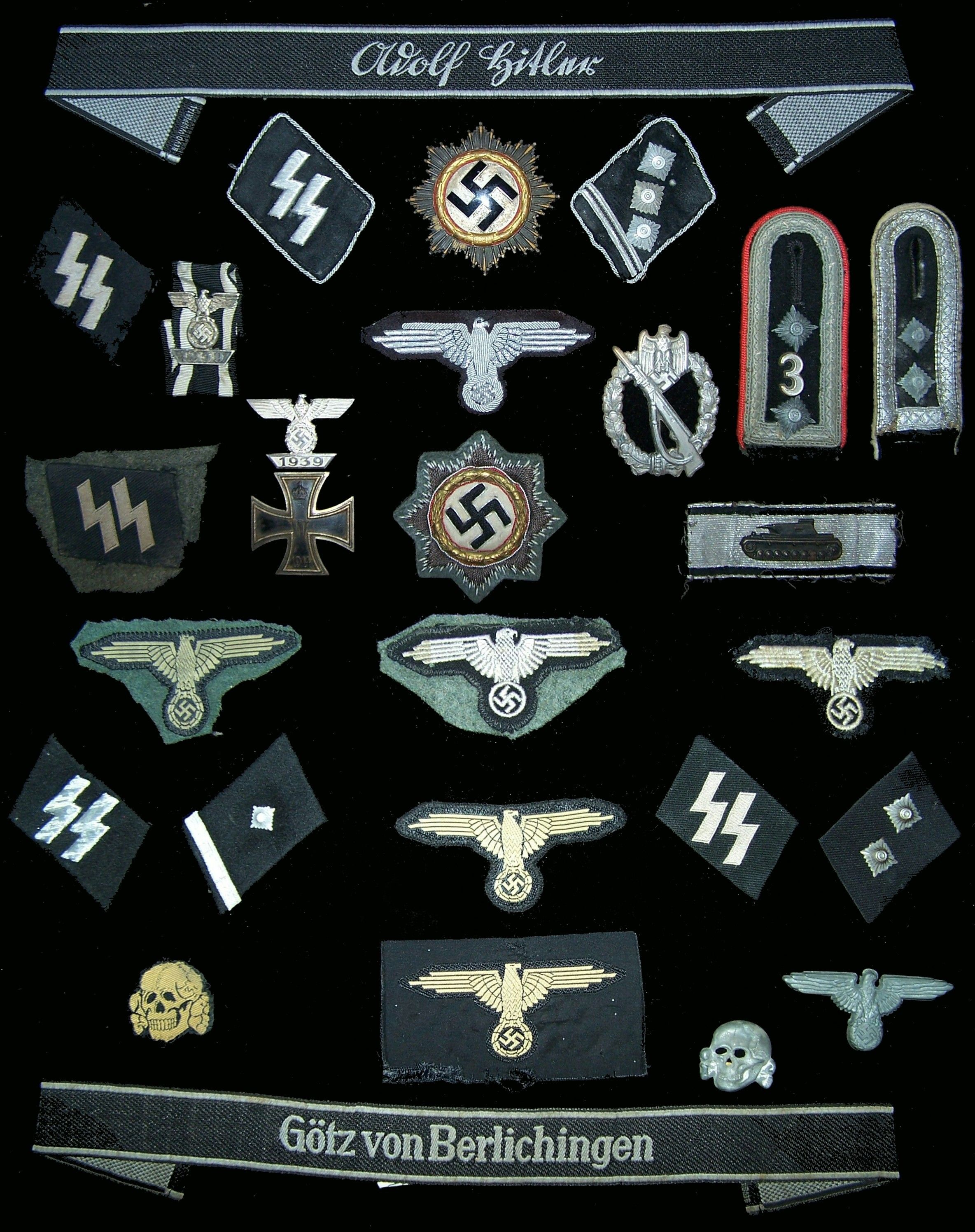 Nazi SS Insignia | This is my WW2 German bunker stove. With and without mess kits.
