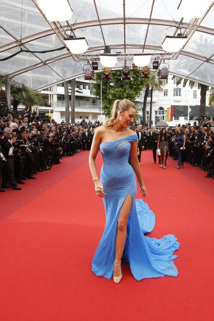 Blake Lively Star Incontestee Du Tapis Rouge Du Festival De Cannes