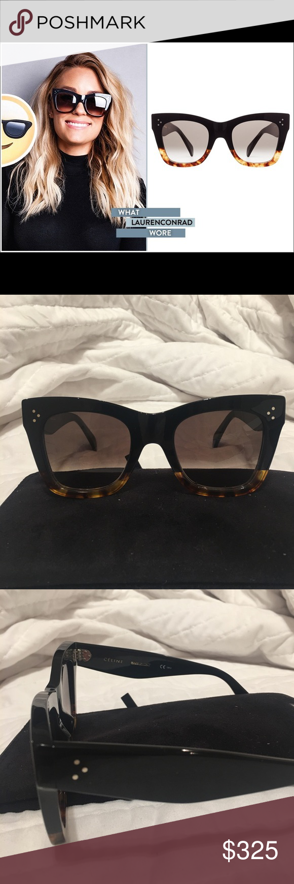 ccc44d911e9 Celine CL 41090 S Catherine Sunglasses Celine CL 41090 S Catherine  Sunglasses. Purchased online and they just don t fit my face like I hoped!