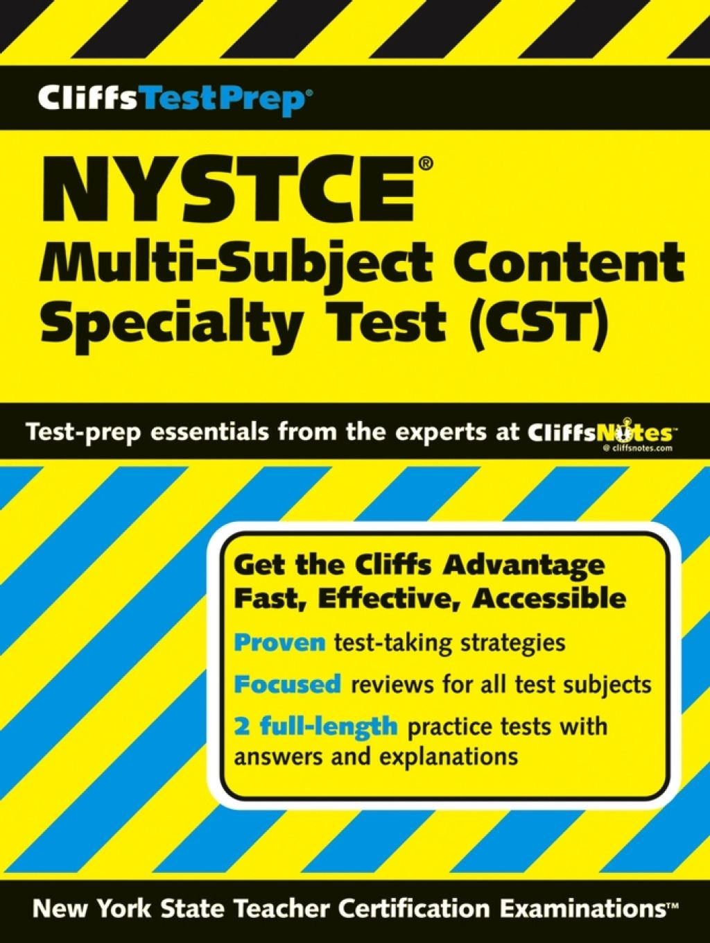 CliffsTestPrep NYSTCE: Multi-Subject Content Specialty Test (CST