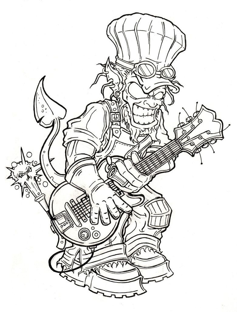 Steampunk Demon By Totalewaanzin Steampunk Pinterest Coloring