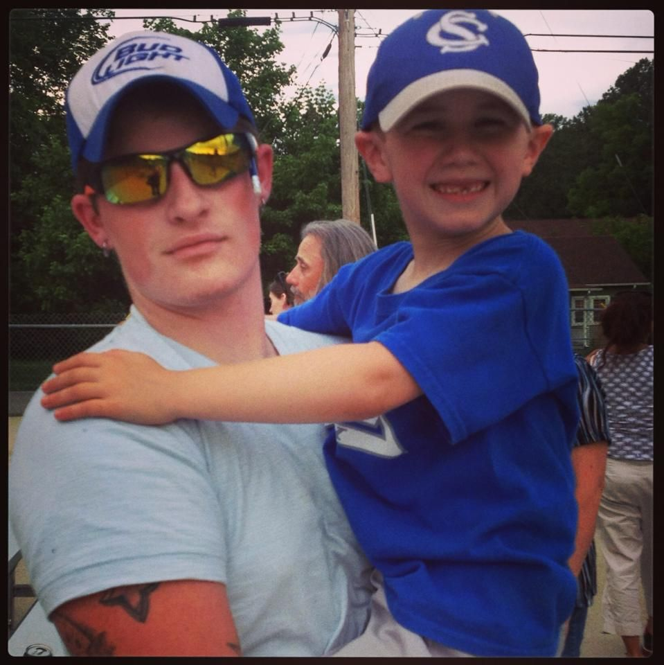 Ryan and little brother Colt   Ryan Upchurch   Oakley sunglasses
