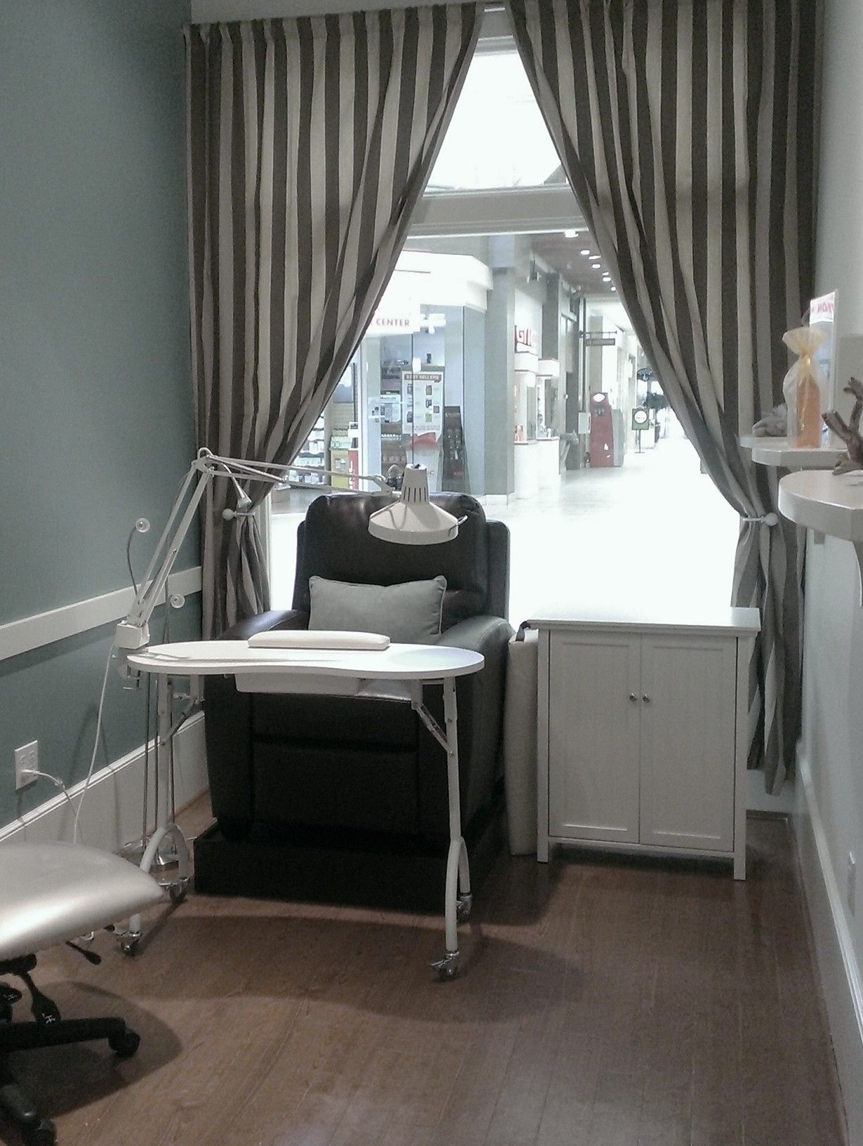 Our new nail chairs - featured at our Bellevue Square, Factoria ...