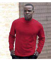 dropped brandon mock neck sweater already in pw