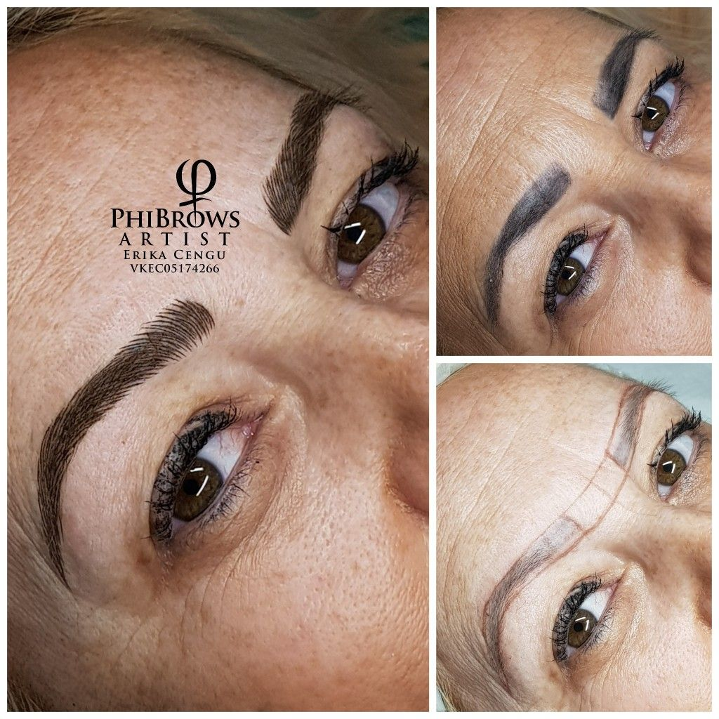 Pin On Phibrows Royal Artist Microblading By Erika S Beauty Derby