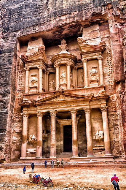 The Treasury, Petra photo by Audun Bakken Andersen