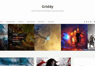 Griddy Blogger Template Blogger Templates Gallery Blogger Templates Free Blogger Templates Free Blogspot Templates