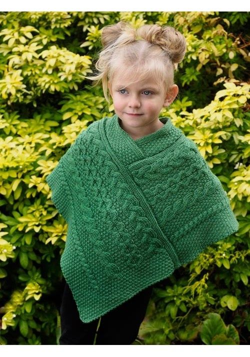 c3fe17611 CHILDREN S PONCHO Made from 100% Merino Wool Colours Available  Marl ...