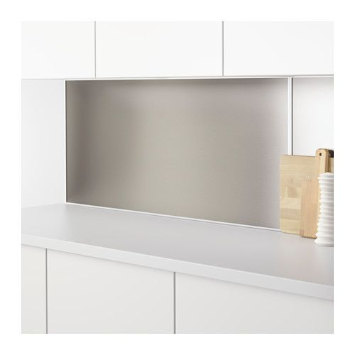 ikea lysekil wall panel double sided steel colour cm protects the wall against soiling and makes cleaning easy