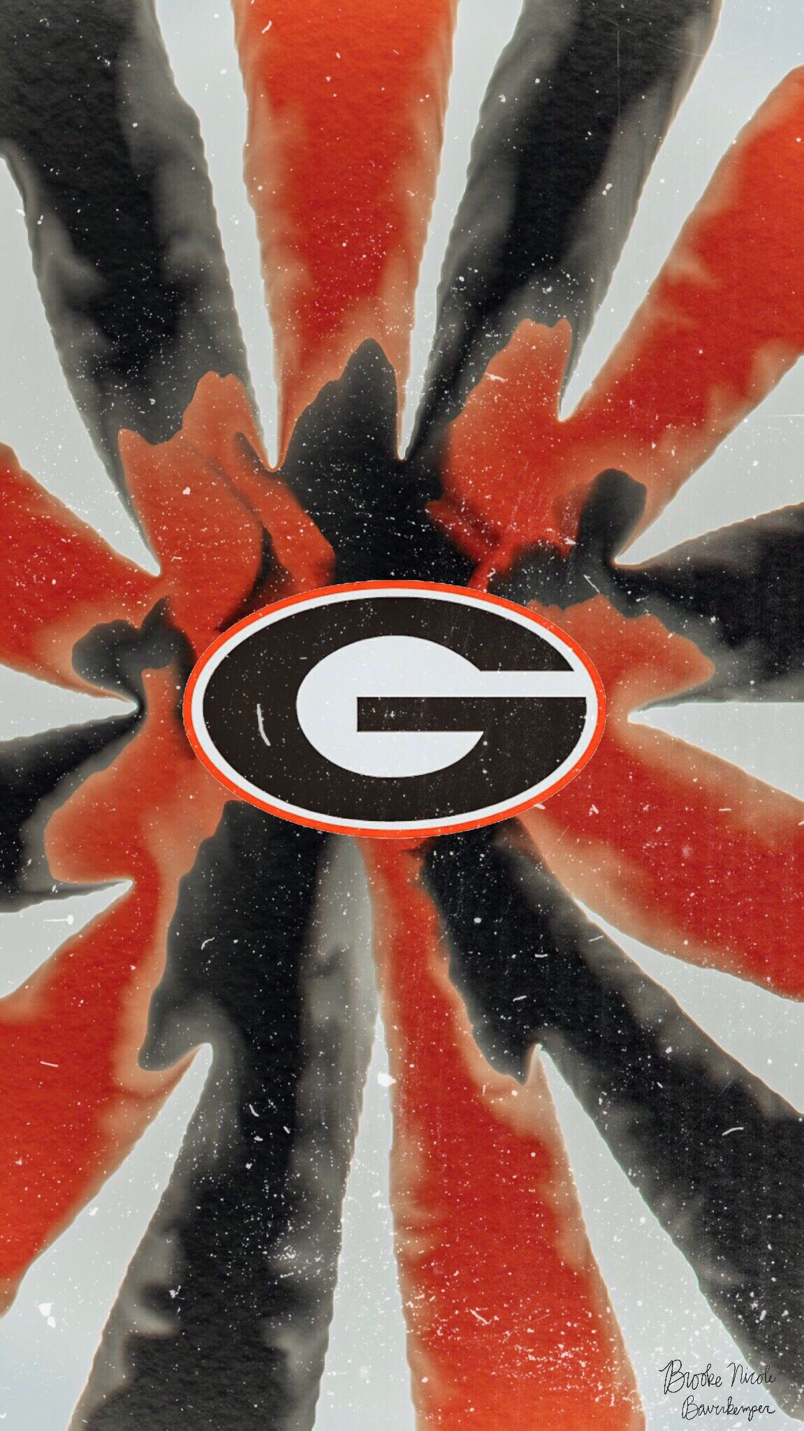 Uga Wallpaper Background Universityofgeorgia Godawgs Print