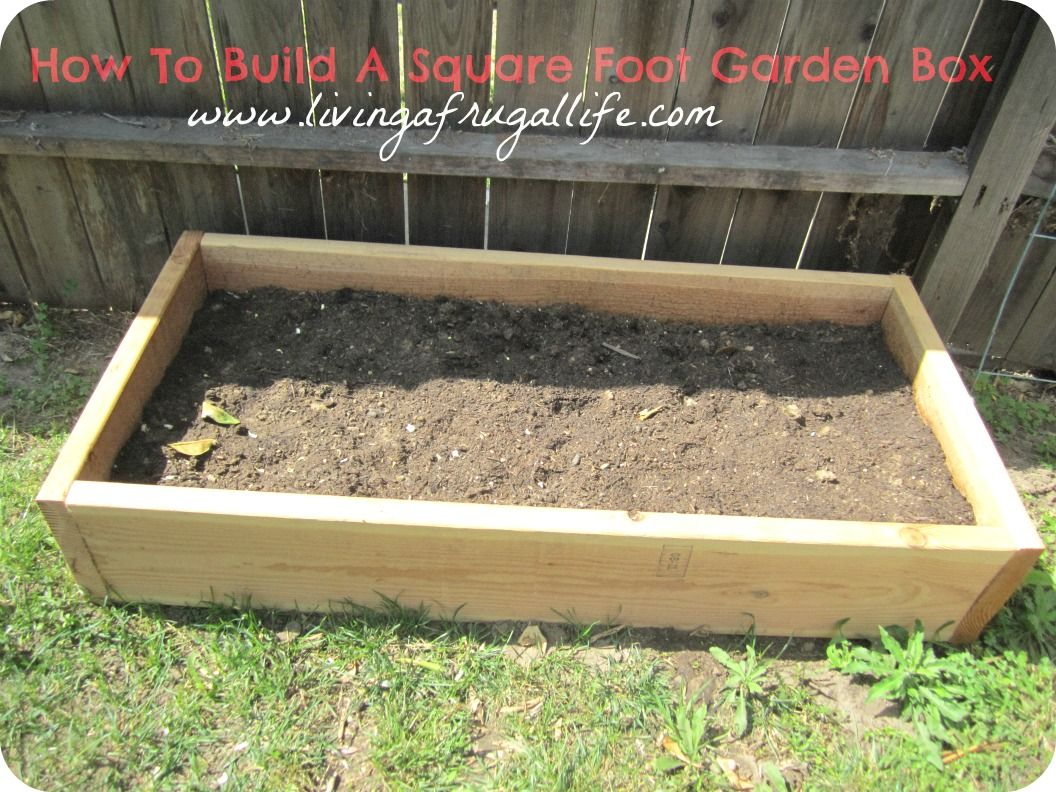 Nice Fastest And Easiest Way To Build A Garden Box!