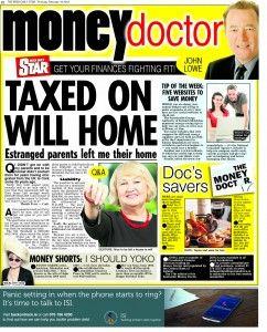 Irish  Daily Star Money Doctor column 19.2.16 Q