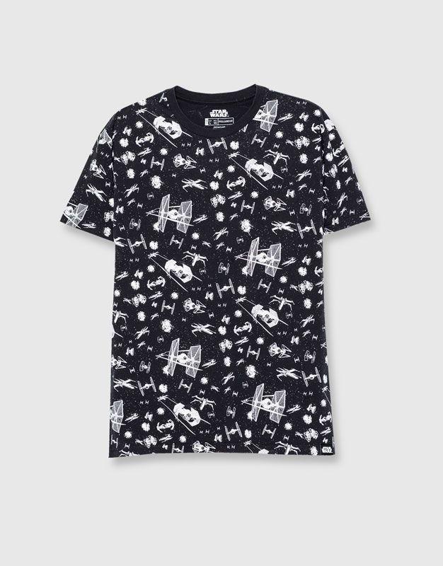 Camiseta Star Wars - Camisetas - Ropa - Hombre - PULL BEAR México ... c345f35d48274