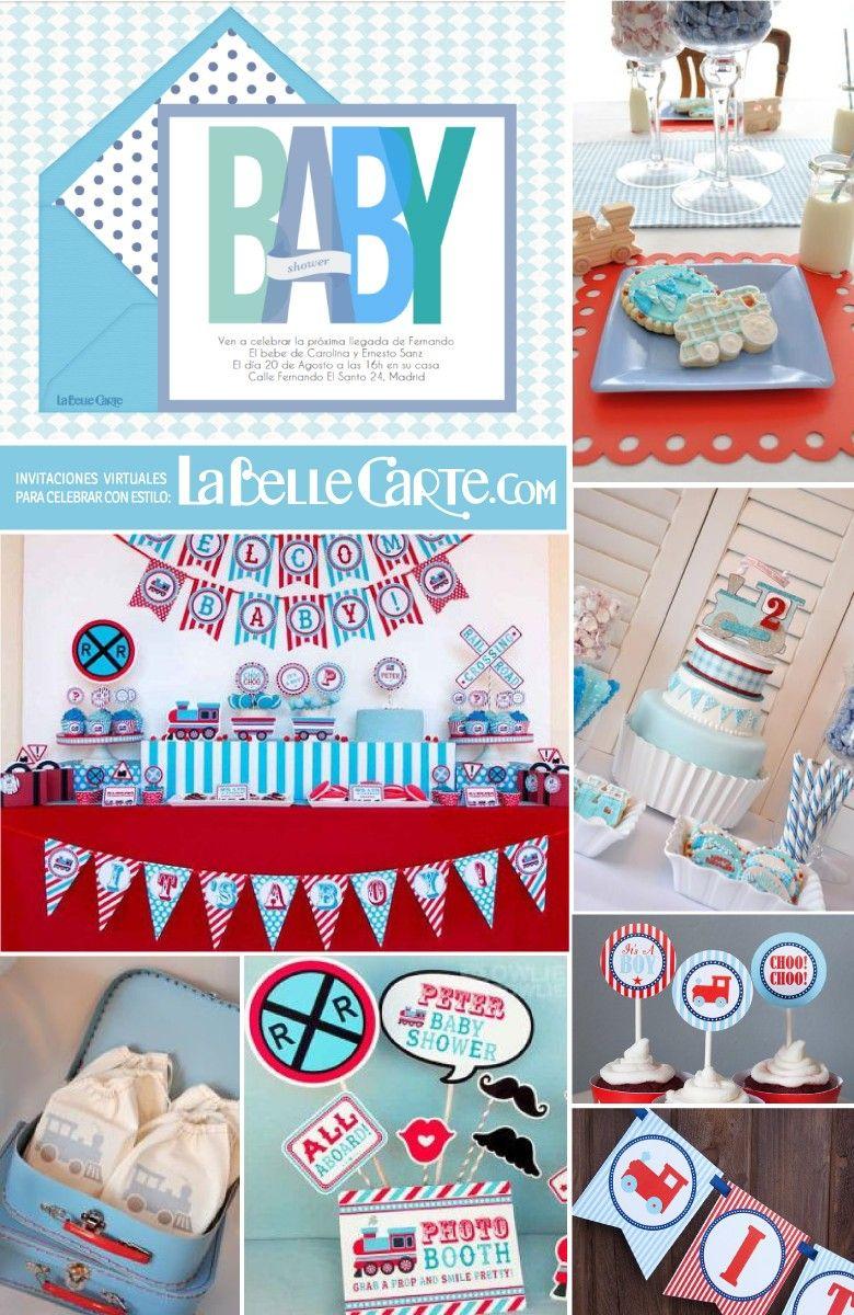 Fiesta Ideas Invitaciones Baby Shower.Invitaciones Para Baby Shower E Ideas Para Celebrar Un Baby