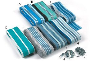 Lawn Chair Webbing Use It To Fix My White Stuff I Want Pinterest