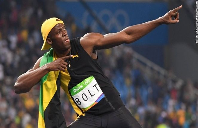 USAIN BOLT: JAMAICAN MAKES OLYMPIC HISTORY WITH 100-METER TRIUMPH