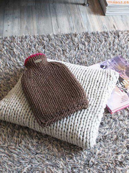 Wärmflasche CALORE | knit | Pinterest | Stricken und Häkeln